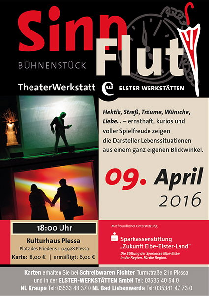 Theater-Plakat